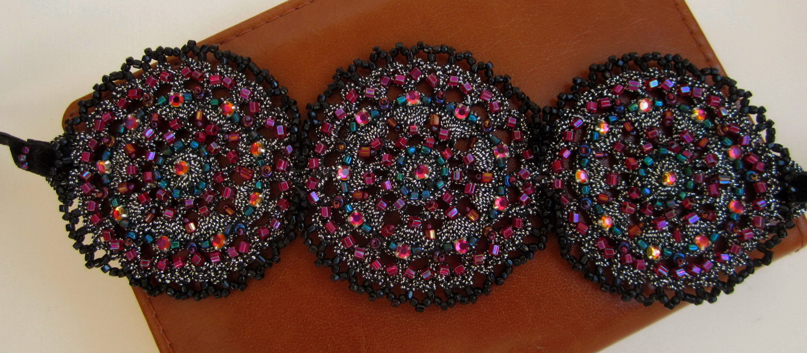 Embroidered Bracelet-Cuff_2
